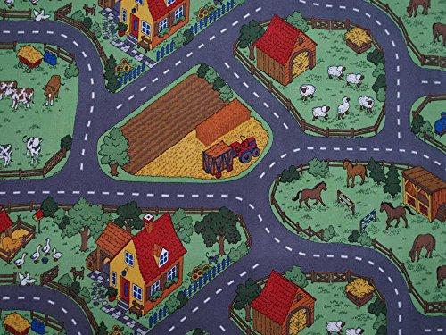 HEVO Spielteppich Bauernhof - 2