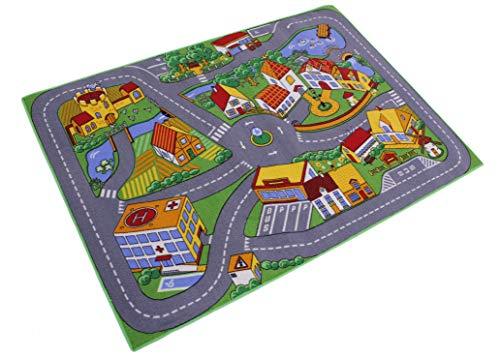 Straßenteppich Stadt Teppich