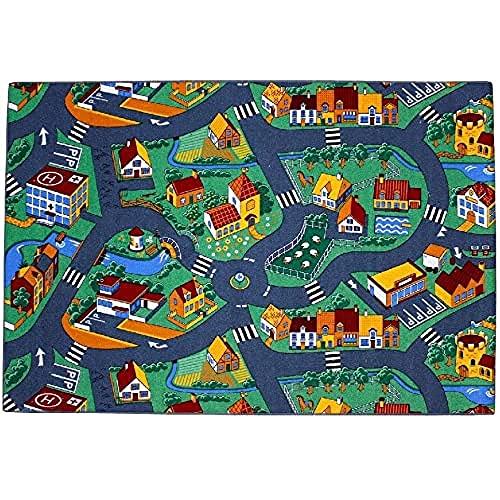 Associated Weavers Spielteppich Stadt (95x200cm)
