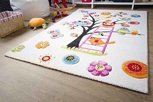Kinderteppich Modena Kids Eule