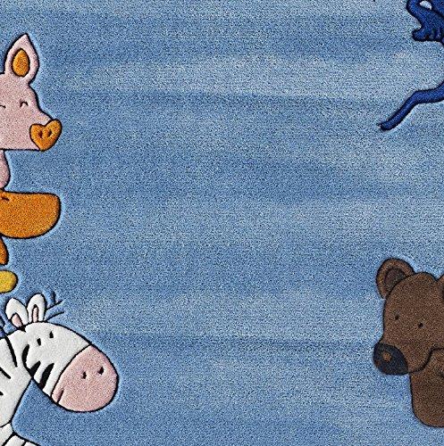 die lieben Sieben Kinderteppich Tiere