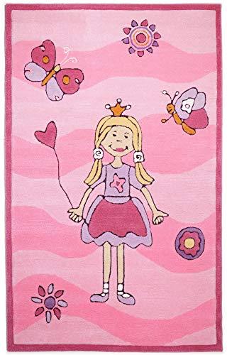 Kinderteppich Maui (rosa)