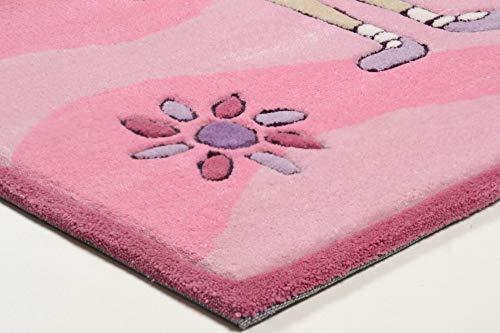 Kinderteppich Maui (rosa) - 4