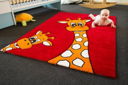 Kinderteppich Giraffe Lia