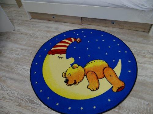 Kinderteppich Bärchen im Mond - 3