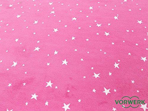 Vorwerk Kinderteppich Bijou Stars pink - 2