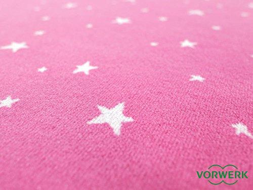 Vorwerk Kinderteppich Bijou Stars pink - 3