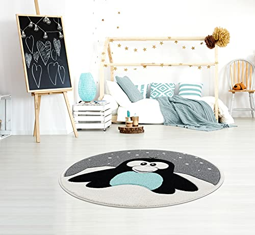 Kinderteppich Pinguin Elliot - 2