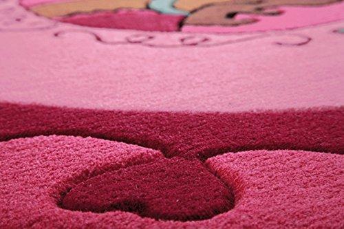 Sigikid Kinderteppich Kali Kalimba – pink - 3