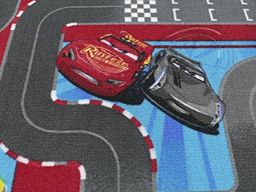 Disney Cars 3 Straßenteppich - Ellipse