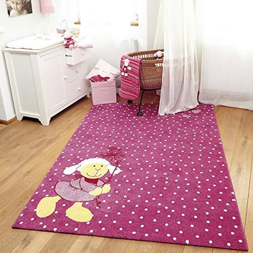 Sigikid Kinderteppich Schnuggi - rosa