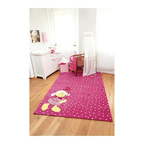 Sigikid Kinderteppich Schnuggi – rosa - 4