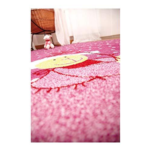 Sigikid Kinderteppich Schnuggi – rosa - 6