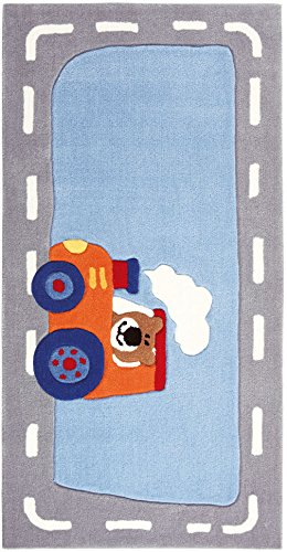"Sigikid Kinderteppich ""Happy Street Traffic"""