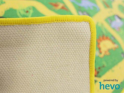 Dinosaurier HEVO® Teppich | Spielteppich | Kinderteppich 200×200 cm Oeko-Tex 100 - 6