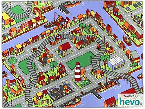 Amsterdam HEVO® Teppich | Spielteppich | Kinderteppich 200x200 cm Oeko-Tex 100 - 2