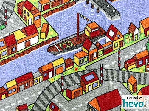 Amsterdam HEVO® Teppich | Spielteppich | Kinderteppich 200x200 cm Oeko-Tex 100 - 3