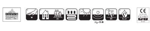 Puppenhaus HEVO® Teppich | Spielteppich | Kinderteppich 140x200 cm Oeko Tex 100 - 7