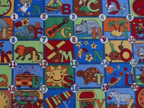 123 HEVO® Teppich | Spielteppich Kinderteppich 133×200 cm Oeko-Tex 100 - 2