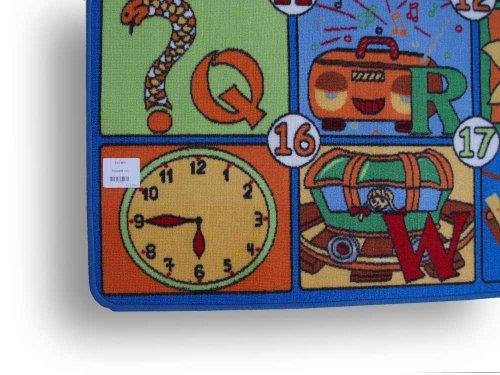 123 HEVO® Teppich | Spielteppich Kinderteppich 133×200 cm Oeko-Tex 100 - 4
