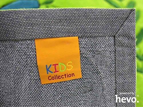 Bernadette Handtuft HEVO® Kinderteppich | Spielteppich limette 150x220 cm Öko Tex 100 - 6