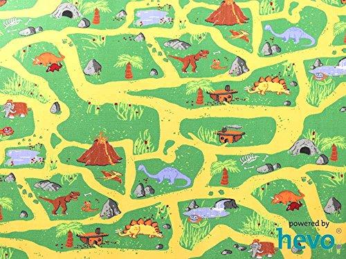 Dinosaurier HEVO® Teppich | Spielteppich | Kinderteppich 160 cm Ø Rund Oeko-Tex 100 - 2