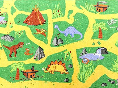 Dinosaurier HEVO® Teppich | Spielteppich | Kinderteppich 160 cm Ø Rund Oeko-Tex 100 - 7