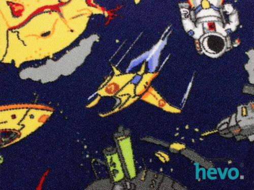 Space blau Weltraum HEVO® Teppich | Spielteppich | Kinderteppich 200 cm Ø Rund Oeko-Tex 100 - 4