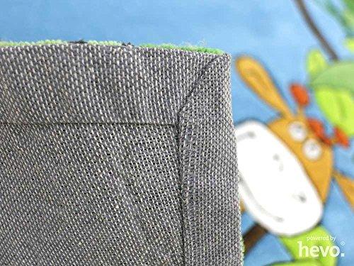 Dschungel HEVO® Handtuft Teppich | Kinderteppich | Spielteppich | Oeko Tex 100 150x220 cm - 6