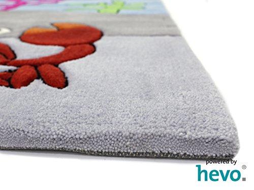 Bruce Unterwasserwelt HEVO® Handtuft Teppich | Kinderteppich | Spielteppich 150x220 cm Öko Tex 100 - 5