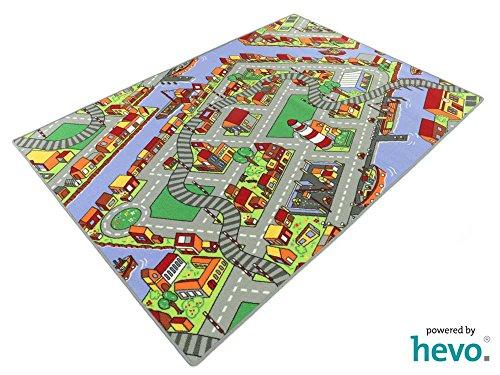 Amsterdam HEVO® Teppich | Spielteppich | Kinderteppich 140x200 cm Oeko-Tex 100