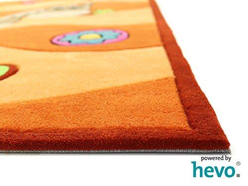 Penny das Pony orange HEVO® Handtuft Teppich | Kinderteppich | Spielteppich 90x150 cm Öko Tex 100 - 6