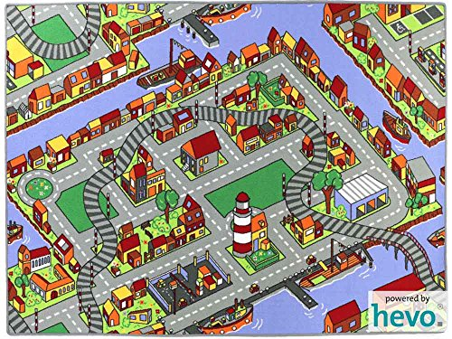 Amsterdam HEVO® Teppich | Spielteppich | Kinderteppich 200x280 cm Oeko-Tex 100 - 2