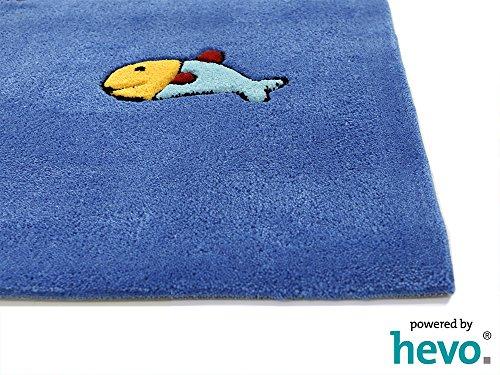 Captain Jack HEVO® Handtuft Teppich | Kinderteppich | Spielteppich | Oeko Tex 100 150x220 cm - 5