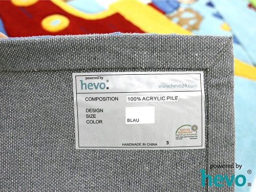 Captain Jack HEVO® Handtuft Teppich | Kinderteppich | Spielteppich | Oeko Tex 100 150x220 cm - 6