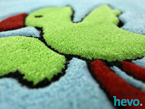 Captain Jack HEVO® Handtuft Teppich | Kinderteppich | Spielteppich | Oeko Tex 100 150x220 cm - 7