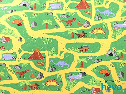 Dinosaurier HEVO® Teppich | Spielteppich | Kinderteppich 200 cm Ø Rund Oeko-Tex 100 - 2
