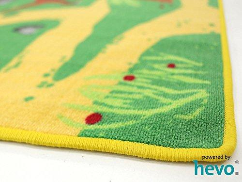 Dinosaurier HEVO® Teppich | Spielteppich | Kinderteppich 200 cm Ø Rund Oeko-Tex 100 - 5