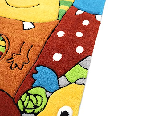 Monsters HEVO® Handtuft Teppich | Kinderteppich | Spielteppich 110x170 cm Textiles Vertrauen Oeko Tex 100 - 4