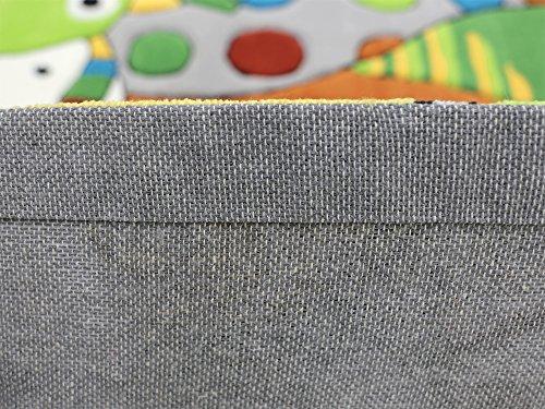Monsters HEVO® Handtuft Teppich | Kinderteppich | Spielteppich 110x170 cm Textiles Vertrauen Oeko Tex 100 - 6