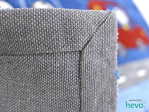 HEVO Funny Bus Blau Handtuft Kinderteppich in 160x230 cm | Spielteppich 3587-03 - 5