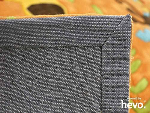 HEVO Bernadette Orange Handtuft Kinderteppich in 90x150 cm - 5