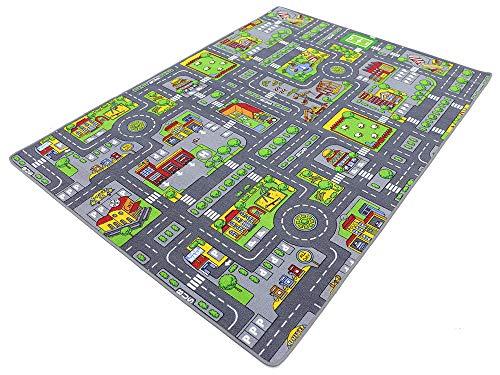 Stadt Mix HEVO® Strassen Spielteppich | Kinderteppich 200x280 cm