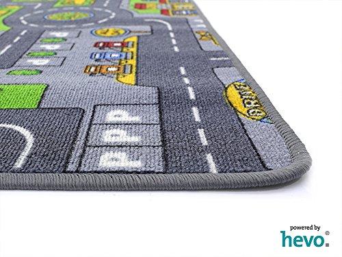 Stadt Mix HEVO® Strassen Spielteppich | Kinderteppich 200×280 cm - 3