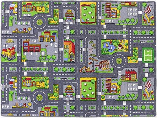 Stadt Mix HEVO® Strassen Spielteppich | Kinderteppich 200×280 cm - 4
