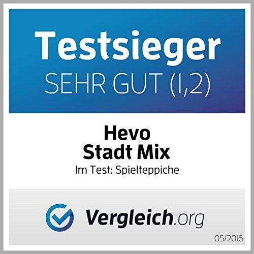 Stadt Mix HEVO® Strassen Spielteppich | Kinderteppich 200×280 cm - 5