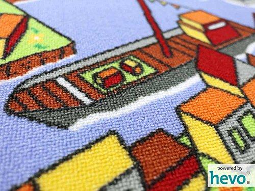 Amsterdam HEVO® Teppich | Spielteppich | Kinderteppich 200 cm Achteck Oeko-Tex 100 - 4