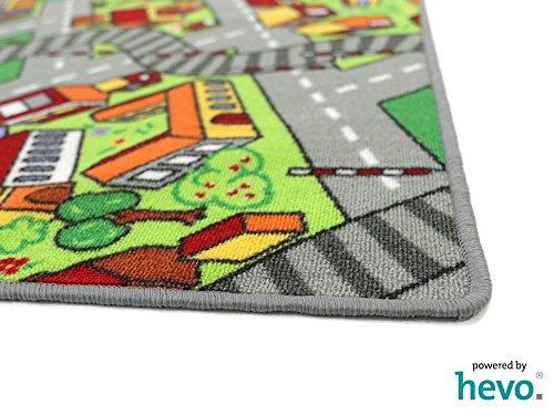 Amsterdam HEVO® Teppich | Spielteppich | Kinderteppich 200 cm Achteck Oeko-Tex 100 - 5