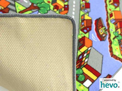 Amsterdam HEVO® Teppich | Spielteppich | Kinderteppich 200 cm Achteck Oeko-Tex 100 - 6