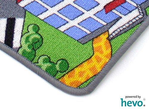 Stadt Land Fluss HEVO® Teppich | Kinderteppich | Spielteppich 145x200 cm - 5